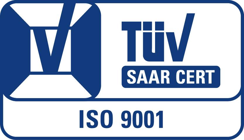 TUEV-SAAR-CERT-ISO9001